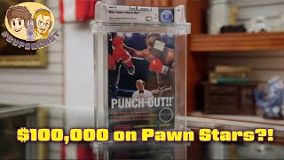 Mike Tyson's Punch-Out!! $100,000 on Pawn Stars?!