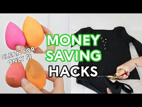 6 MONEY SAVING Beauty & Lifestyle Hacks!