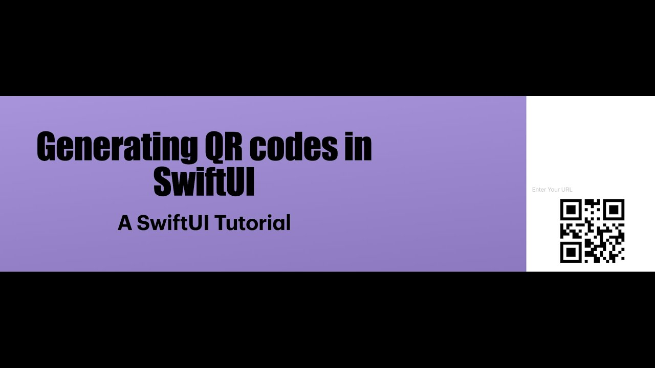 How To Make a Dynamic QR Code Generator!