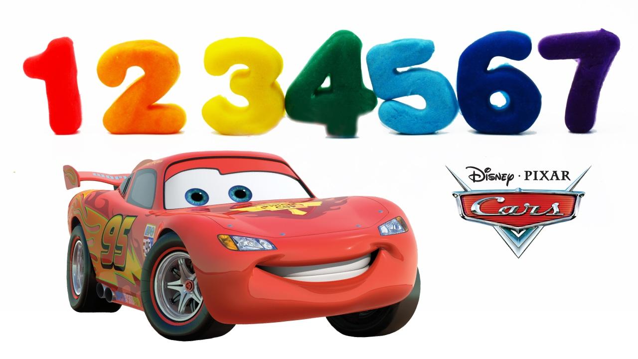 Cars Rayo McQueen: Aprende los Colores y Numeros con Play ...