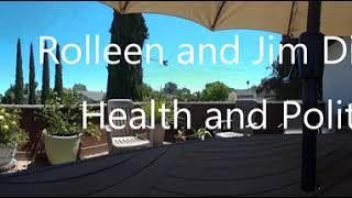 Rolleen and Jim discuss health and politics in Virtual Reality