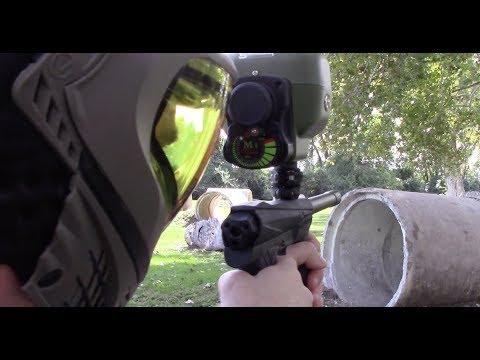 New updated M1 Paintball Hopper - mechanical hopper