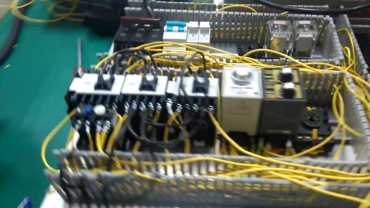 低電壓控制配線實做--三相馬達啟動低功轉高功 - YouTube