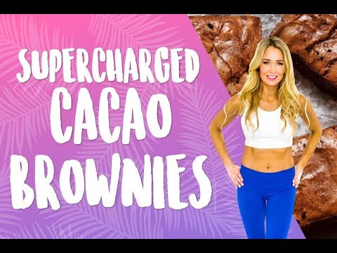 Supercharged Cacao Brownies