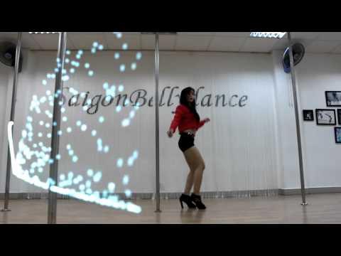 SaigonBellydance I Ms. Lý Ngọc I Học nhảy vũ trường Clubbing Dance