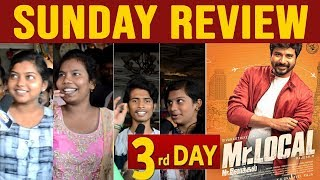 """Thalaivi Nayanthara Vera Level "" MR LOCAL Sunday Review with Public 3rd Day Review"