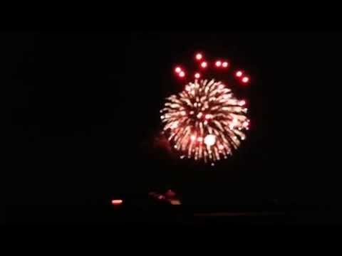 Batavia Illinois Fireworks - July 4th 2013