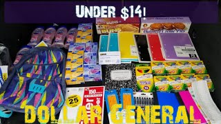 Dollar General Haul under $14 Tons of items. Easy!