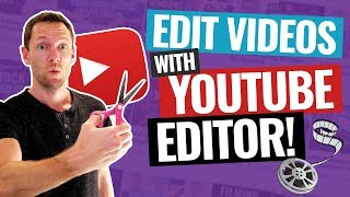 How to Edit Viḋeos with the YouTube Video Editor!