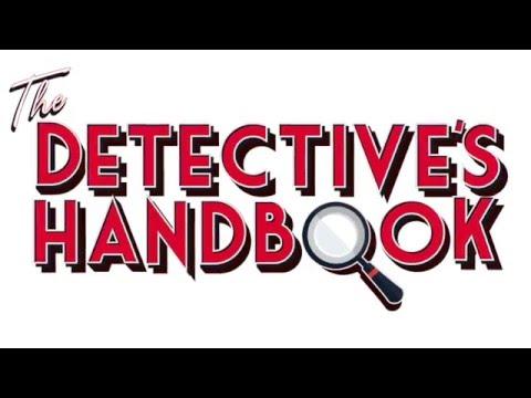 The Detective's Handbook   Photo Shoot