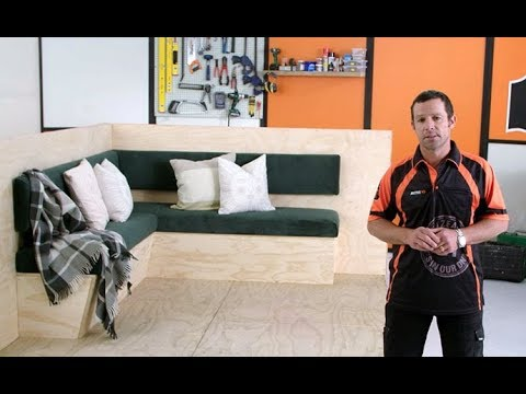 How to Build Bench Seats with Storage | Mitre 10 Easy As
