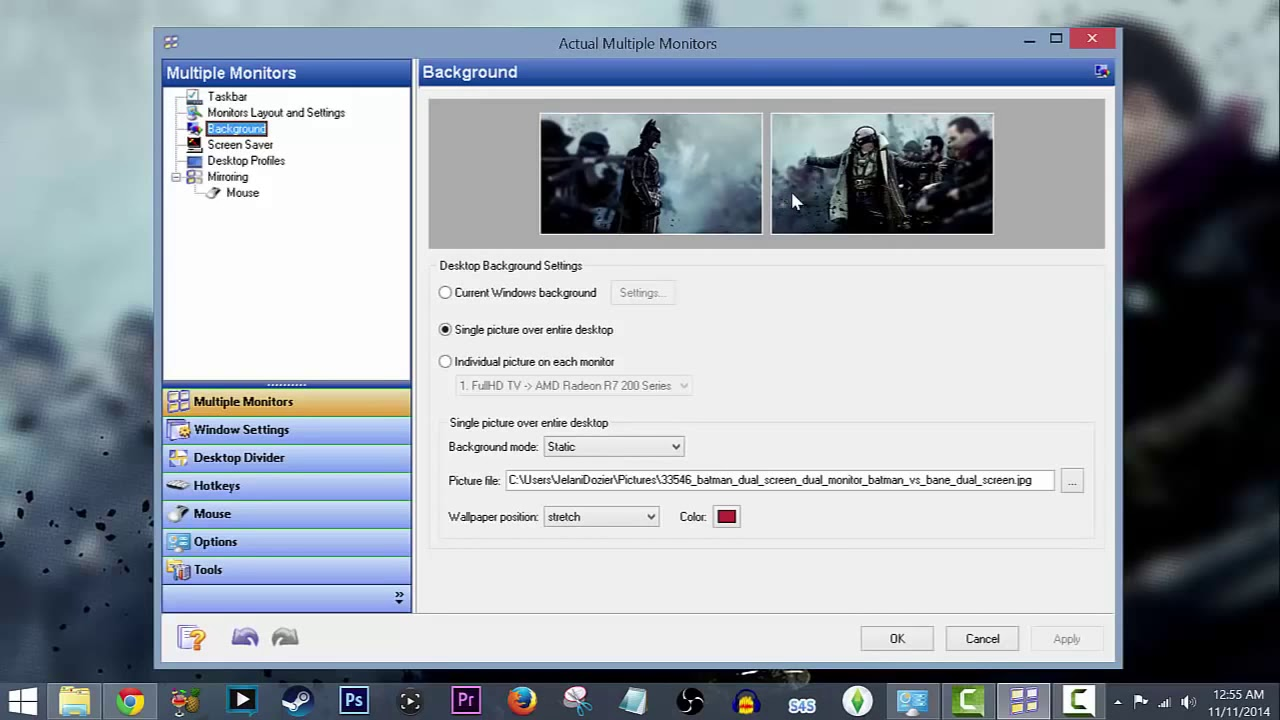 actual multiple monitors licence key