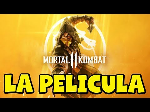 Mortal Kombat 11 – La pelicula completa en Español Latino – Todas las cinematicas – 1080p 60fps