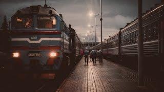 На вокзалі у Полоцьку