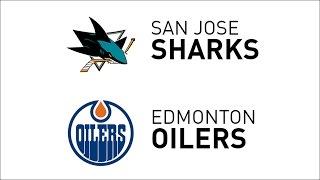 Recap: Sharks 5, Oilers 3 • Jan 10, 2017