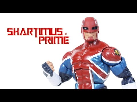 Marvel Legends Captain Britain 2016 Abomination BAF Toy Action Figure Review