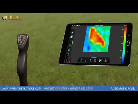 EVO a Smallest 3D Imaging Gold Detector in the World | 8 - Automatic Scan