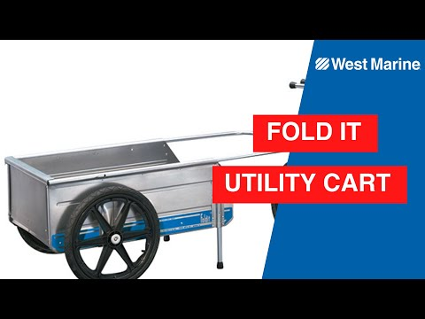 Foldit Marine Utility Cart
