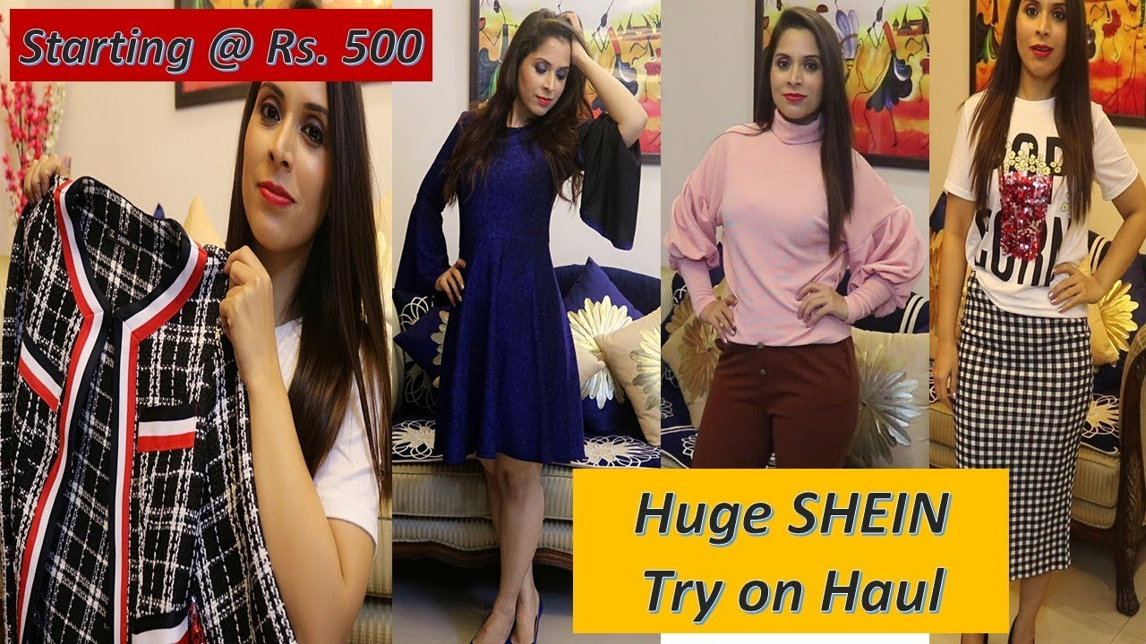 d8b0bd6e4547 I SPENT Rs. 11,000/- ON SHEIN || HUGE SHEIN TRY ON HAUL || Sarita Malik