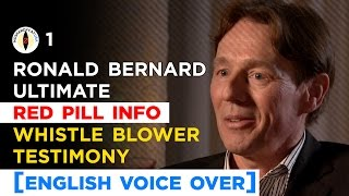 Ronald Bernard Whistle Blower Testimony [English Voice Over]
