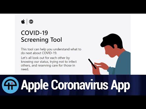 Apple's New Coronavirus App and Website