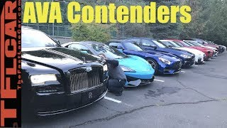 Introducing The First Annual Automotive Video Awards (AVA) Performance Car & Crossover Contenders