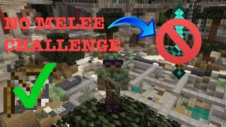 NO MELEE CHALLENGE!!! | BATTLE MINI GAME