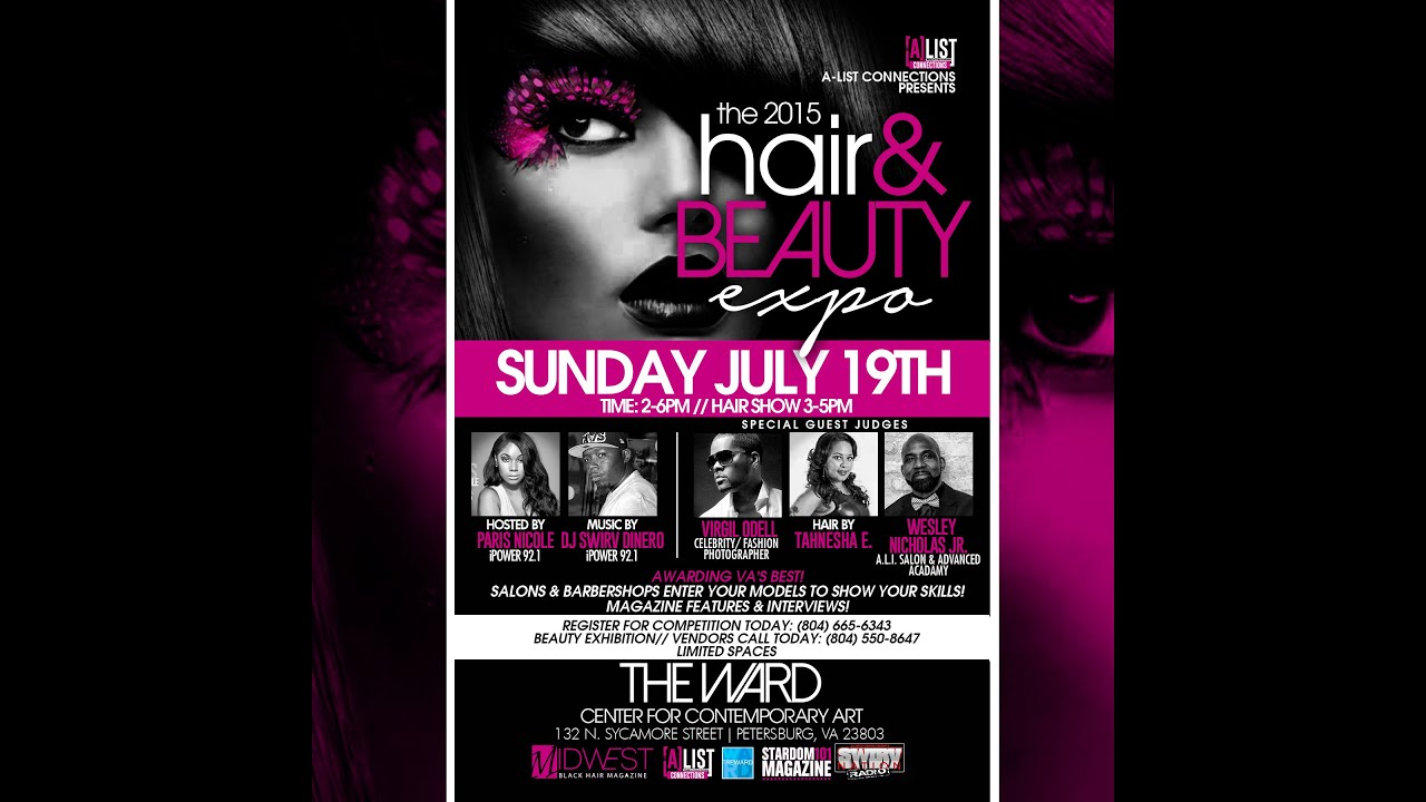 4addfb427 The A-List Connections 2015 Hair & Beauty Expo Sunday July 19th ...