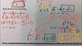 Precalculus - Spring Semester Review