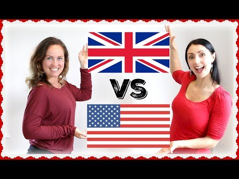 Accents - BRITISH vs AMERICAN: English Accents Around the Wo