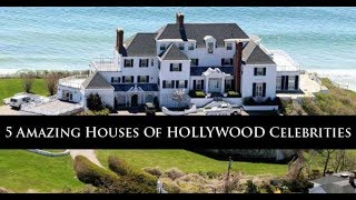 5 Amazing Houses Of HOLLYWOOD Celebrities | World Best Things