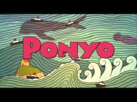 Ponyo Theme Song - End Credits Non remixed english fandub.
