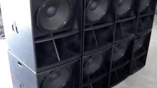 Caixa de grave DB tecnologia acústica mod. mini scoop 15''1000watts AES.