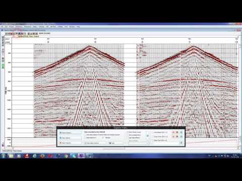 Seismic Data Processing - Geophysics
