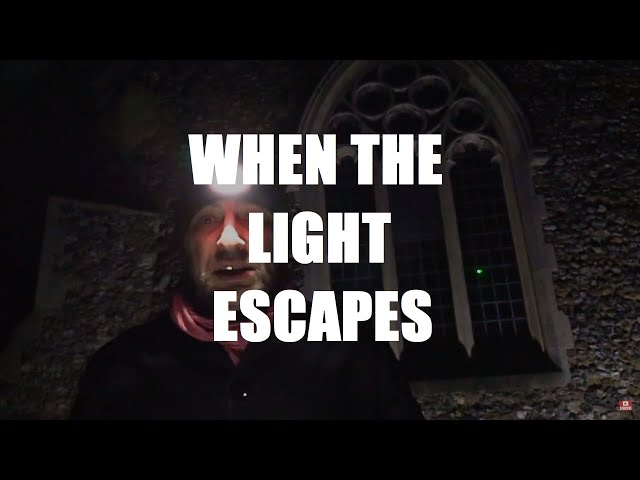 WHEN THE LIGHT ESCAPES ~ A Poem by Shane M. O'Sullivan