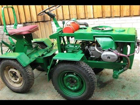 Мини-трактор на продажу (самодельный) - YouTube