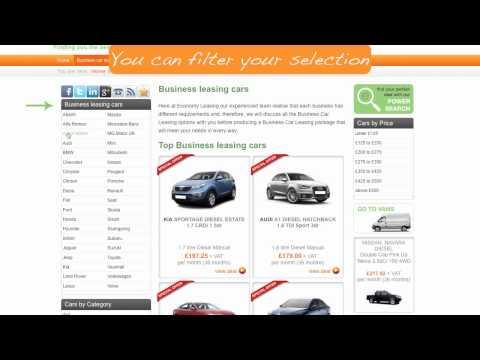 Economy car Leasing Help Video
