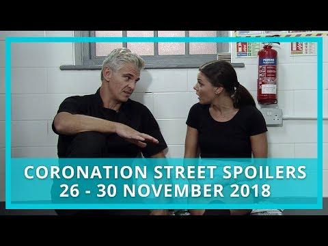 Coronation Street Spoilers | 26th - 30th November 2018