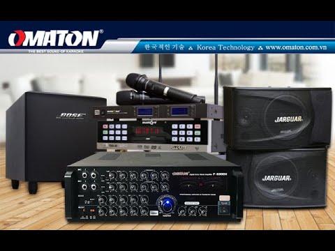Khui thùng Amply Omaton 20 sò Toshiba Nhật F-6300X