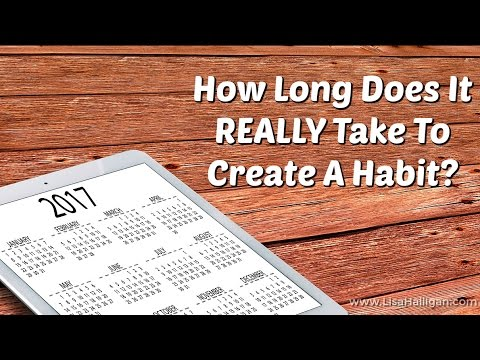 how long does it really take to create a habit youtube. Black Bedroom Furniture Sets. Home Design Ideas