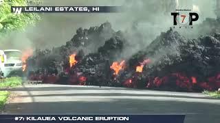 Top Weather Events of 2018 - #7 Kilauea Volcano Eruption