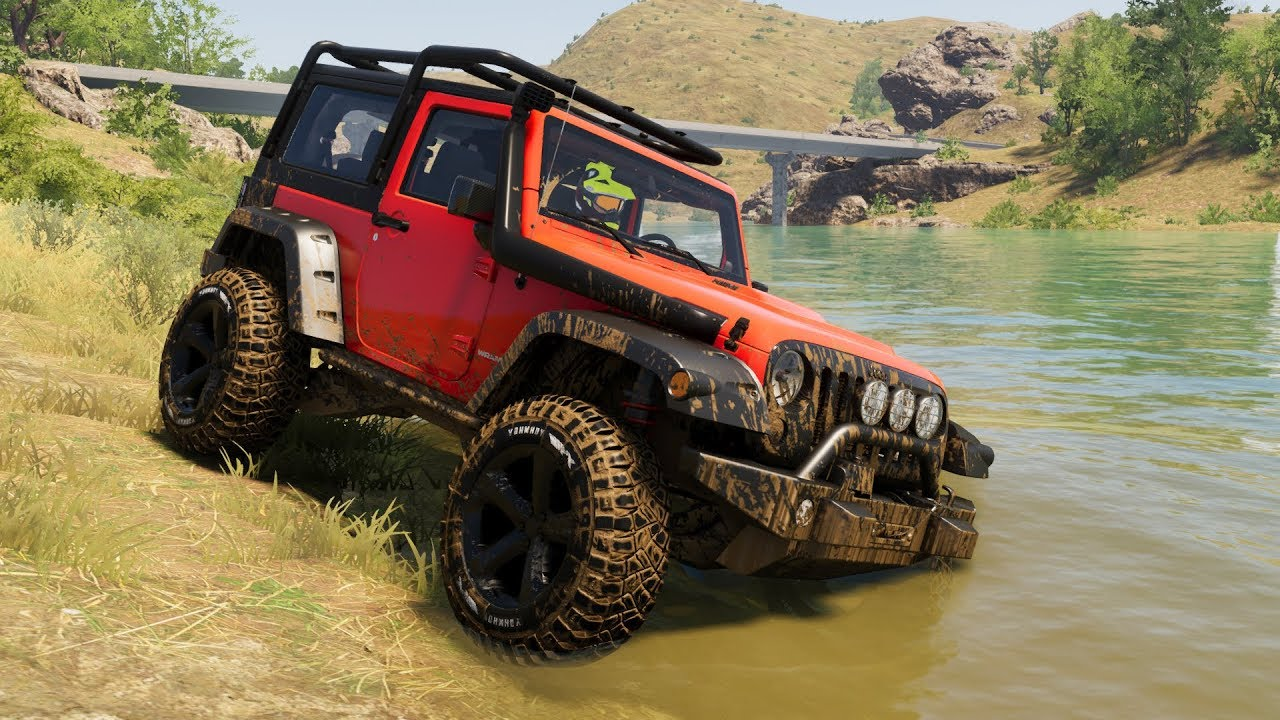 The Crew 2 - Jeep Wrangler Off Road Test Drive