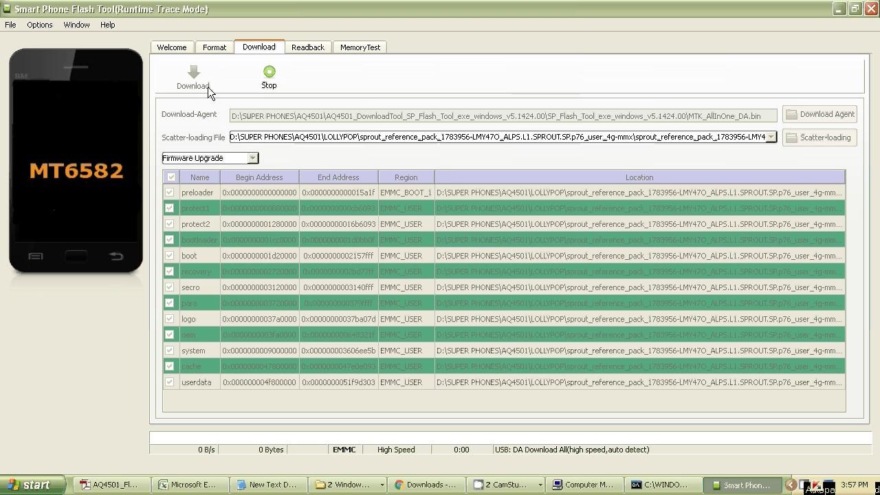 Micromax AQ4501,AQ4502 flashing procedure