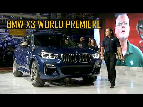 2018 BMW X3 World Premiere in Spartanburg, South Carolina, USA