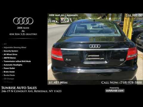 Used 2008 Audi A6 | Sunrise Auto Sales, Rosedale, NY