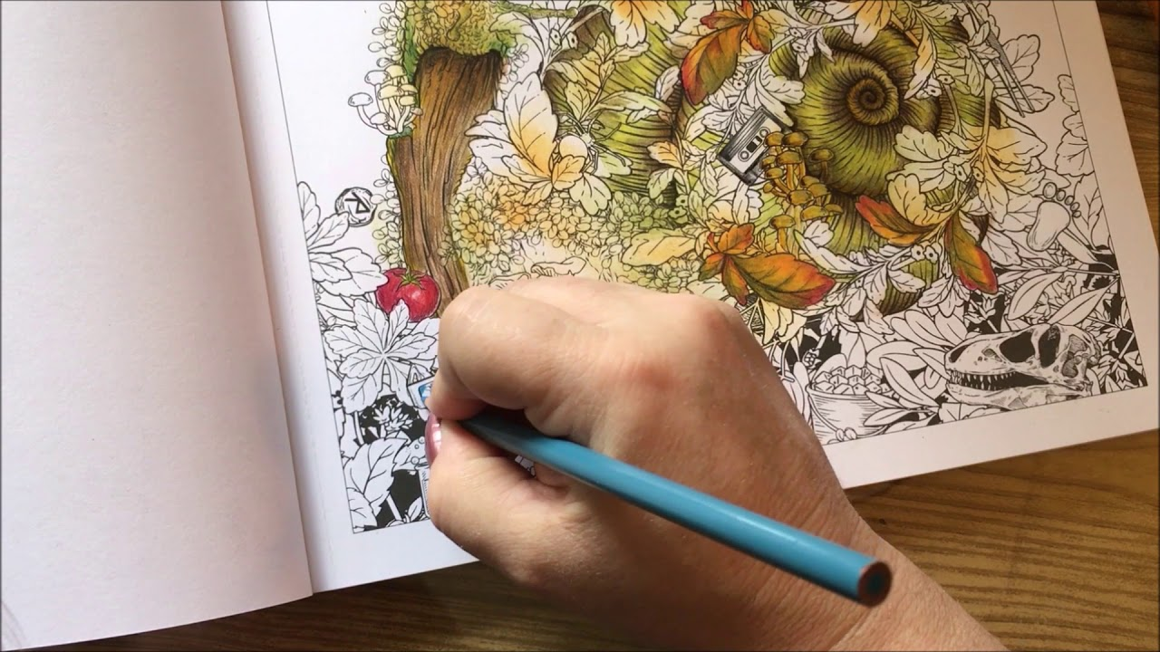 Adult Coloring Mythographic Pt 2 Youtube