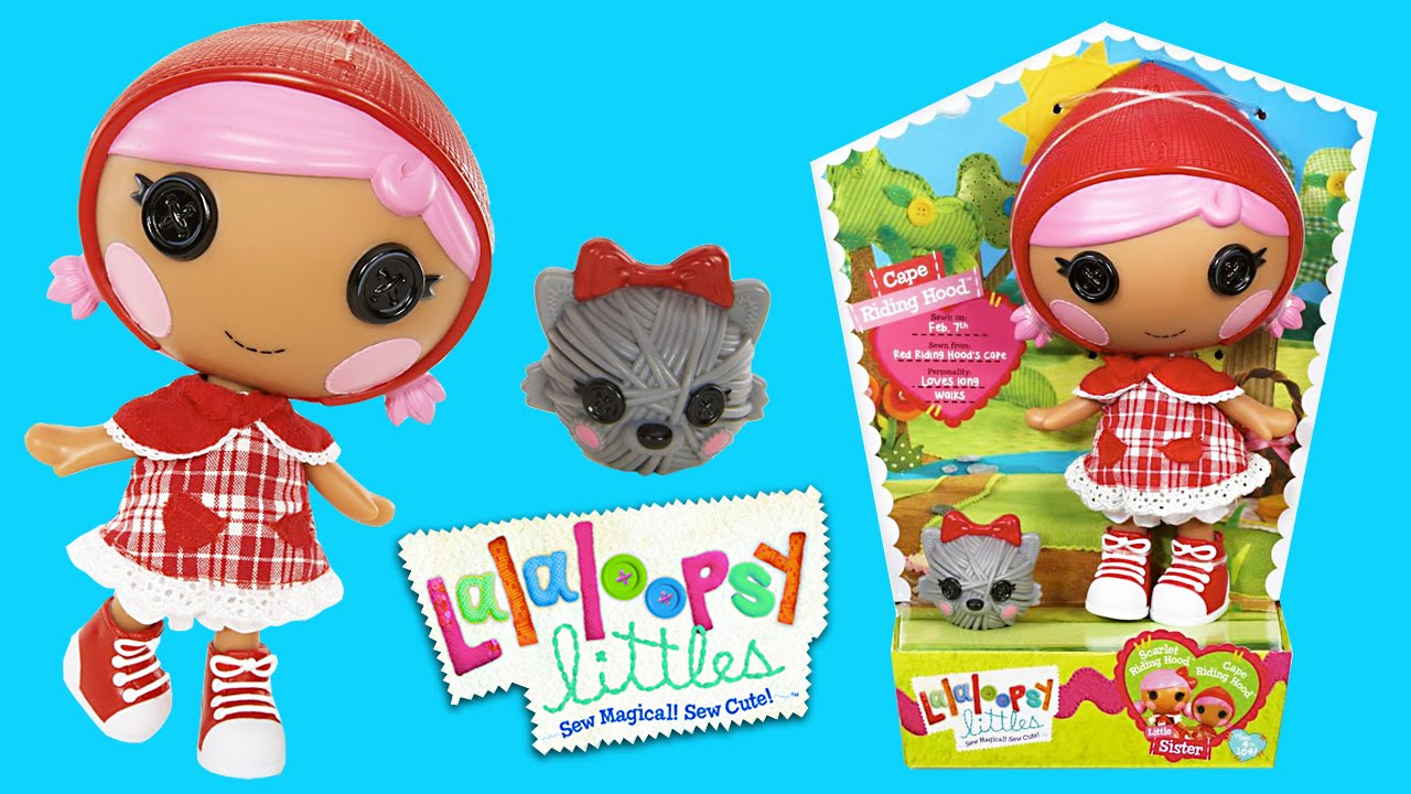Lalaloopsy Littles Cape Riding Hood Doll Unboxing| Kids Play O\'Clock ...