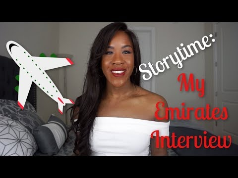 STORY TIME: MY EMIRATES INTERVIEW
