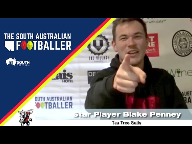 SA Adelaide Footballer 23-1: Club Legend of the Week - Tea Tree Gully Star Player Blake Penney
