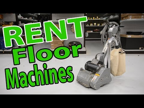 Rent Hardwood Floor Machines From City Floor Supply | Sanders, Buffers, Edgers, Vacuums And More!